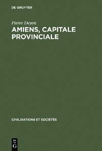 Cover Amiens, capitale provinciale