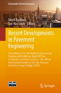 Cover Recent Developments in Pavement Engineering