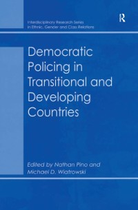 Cover Democratic Policing in Transitional and Developing Countries