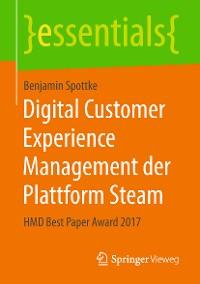 Cover Digital Customer Experience Management der Plattform Steam