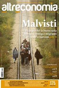 Cover Altreconomia 175, ottobre 2015