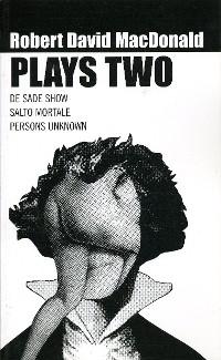 Cover Robert David Macdonald: Plays Two