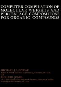 Cover Computer Compilation of Molecular Weights and Percentage Compositions for Organic Compounds