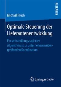 Cover Optimale Steuerung der Lieferantenentwicklung