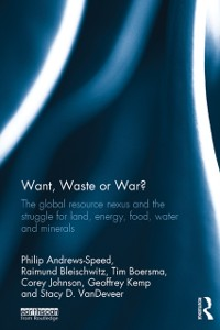Cover Want, Waste or War?