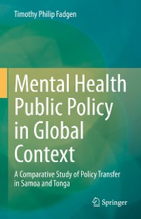 Cover Mental Health Public Policy in Global Context