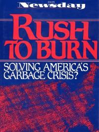 Cover Rush to Burn