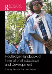 Cover Routledge Handbook of International Education and Development