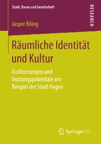 Cover Räumliche Identität und Kultur
