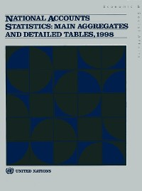 Cover National Accounts Statistics: Main Aggregates and Detailed Tables, 1998