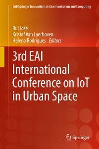 Cover 3rd EAI International Conference on IoT in Urban Space