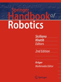 Cover Springer Handbook of Robotics
