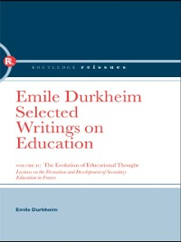 Cover Evolution of Educational Thought