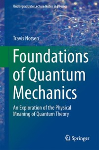 Cover Foundations of Quantum Mechanics
