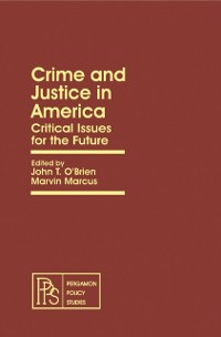 Cover Crime and Justice in America