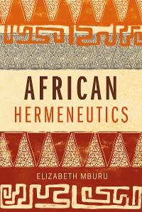 Cover African Hermeneutics