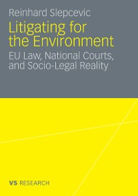 Cover Litigating for the Environment