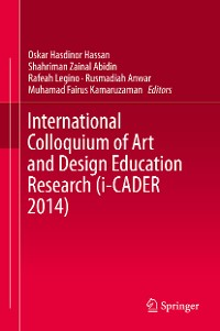 Cover International Colloquium of Art and Design Education Research (i-CADER 2014)