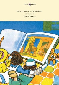 Cover Raggedy Ann in the Magic Book - Illustrated by Worth Gruelle