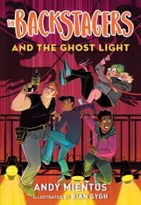Cover Backstagers and the Ghost Light (Backstagers #1)