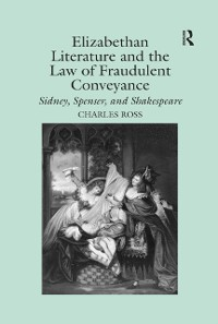 Cover Elizabethan Literature and the Law of Fraudulent Conveyance