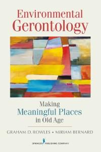 Cover Environmental Gerontology