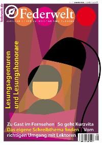 Cover Federwelt 121, 06-2016