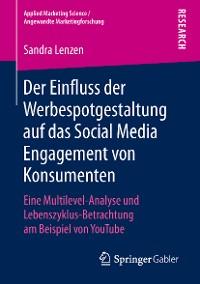 Cover Der Einfluss der Werbespotgestaltung auf das Social Media Engagement von Konsumenten