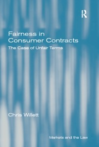 Cover Fairness in Consumer Contracts