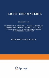 Cover Licht und Materie