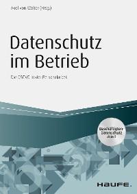 Cover Datenschutz im Betrieb