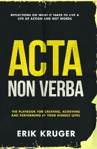 Cover Acta Non Verba