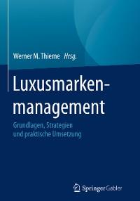 Cover Luxusmarkenmanagement
