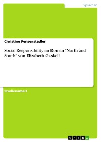 """Cover Social Responsibility im Roman """"North and South"""" von Elizabeth Gaskell"""
