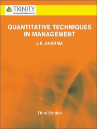 Cover Quantitative Techniques in Management