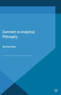 Cover Dummett on Analytical Philosophy
