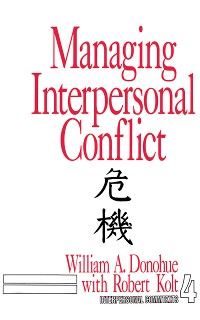 Cover Managing Interpersonal Conflict