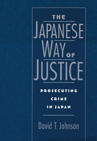 Cover Japanese Way of Justice