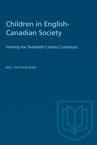 Cover Children in English-Canadian Society