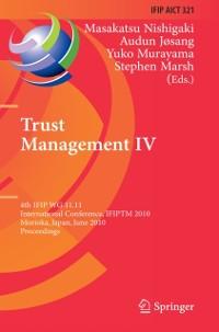 Cover Trust Management IV