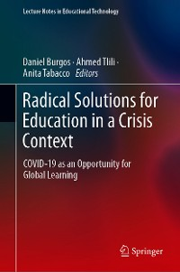 Cover Radical Solutions for Education in a Crisis Context