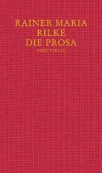 Cover Die Prosa