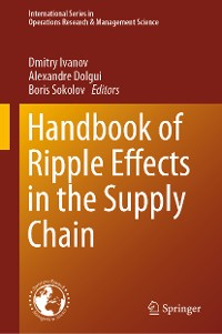 Cover Handbook of Ripple Effects in the Supply Chain