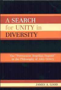 Cover A Search for Unity in Diversity