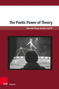 Cover The Poetic Power of Theory