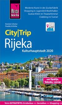 Cover Reise Know-How CityTrip Rijeka (Kulturhauptstadt 2020) mit Opatija