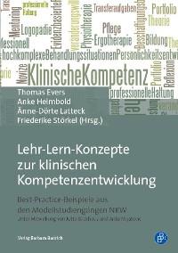 Cover Lehr-Lern-Konzepte zur klinischen Kompetenzentwicklung
