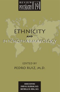 Cover Ethnicity and Psychopharmacology