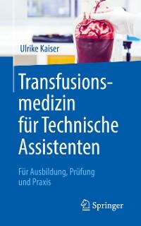 Cover Transfusionsmedizin für Technische Assistenten