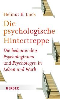 Cover Die psychologische Hintertreppe